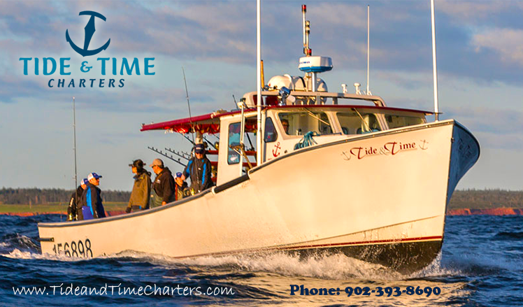 David Sansom of the Tide and Time Tuna Charters in PEI ... - photo#2