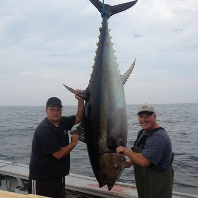 David Sansom of the Tide and Time Tuna Charters in PEI ... - photo#4
