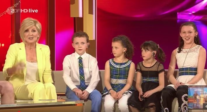 MacMaster-Leahy Kids Perform On TV Show In Germany [VIDEO