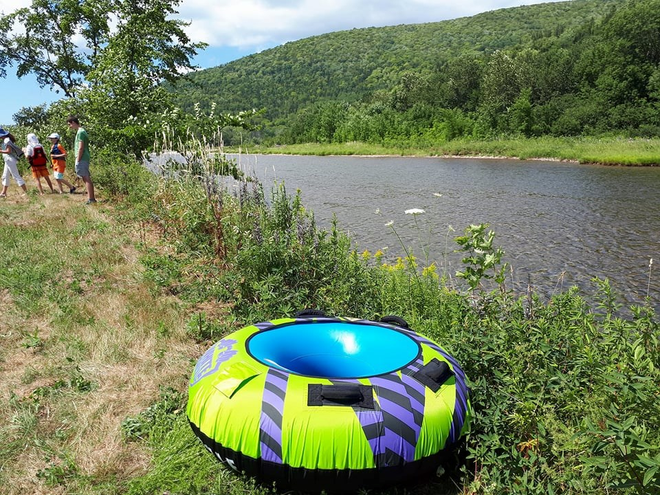 Floating Down A River With Live Life In Tents Gocapebreton Com