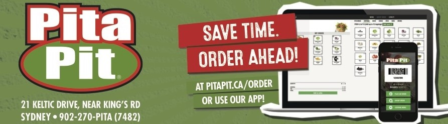 image relating to Pita Pit Printable Menu called Pita Pit Sydney River - Printable Coupon Expire - January 31