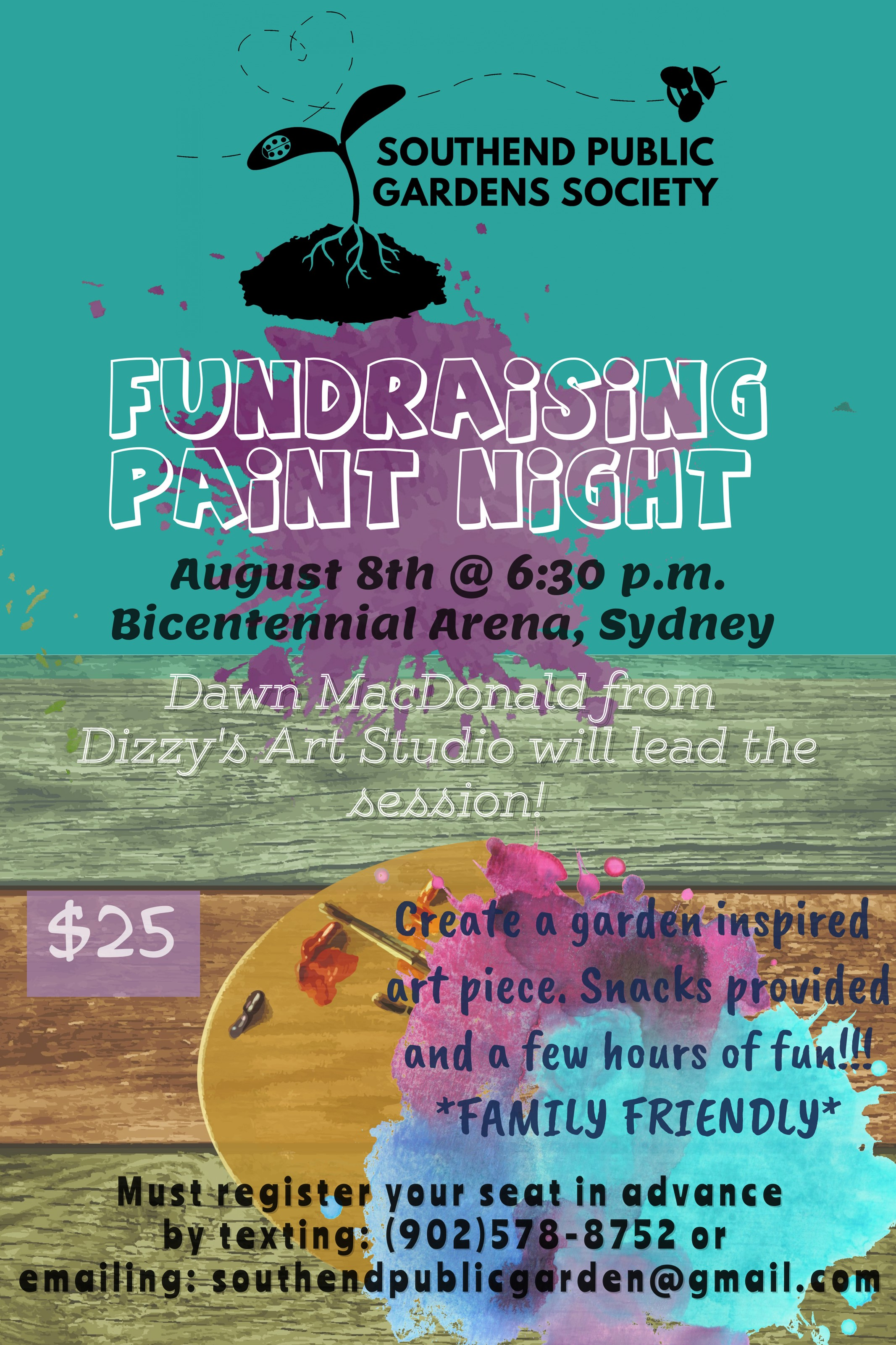 Sydney Paint Night Event